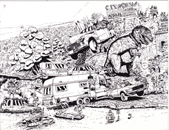 Hans van Bavel Cartoons - 1-4